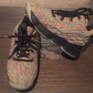 Toddler Sz 11 Multi color Flyknit Sneakers